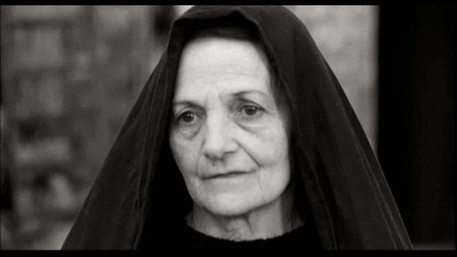 La madre de Pasolini en el papel de la Virgen María.