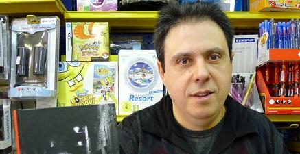 El librero Octavi Serret, artífice de la cita anual.
