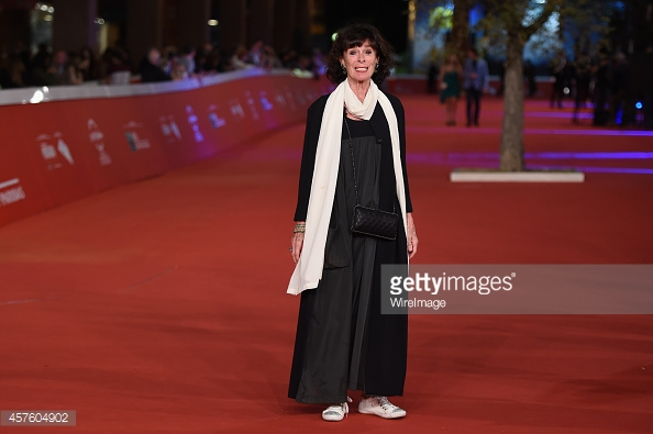 attends 'Dolares De Arena' Red Carpet during the 9th Rome Film Festival at Auditorium Parco Della Musica on October 21, 2014 in Rome, Italy.