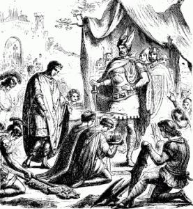 Rendición de Romulus Augustulus | Wikimedia