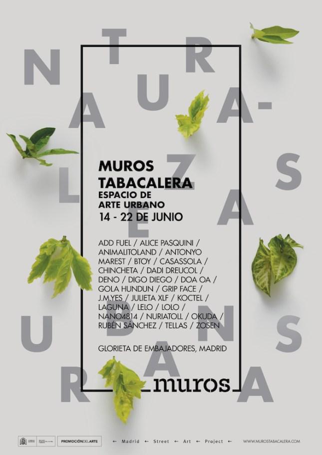 MUROS 2016_poster artistas