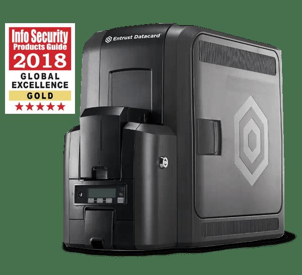 CR805 Retransfer ID Card Printer