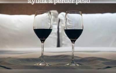 Una copa de vino antes de acostarse ayuda a perder peso