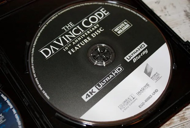 El código Da Vinci 4K Ultra HD