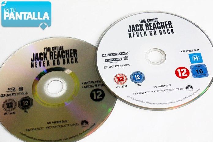 Jack Reacher 2 4K Ultra HD