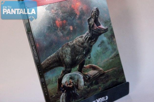 Jurassic World: El Reino Caído - Edición Steelbook 3D + 2D Blu-ray