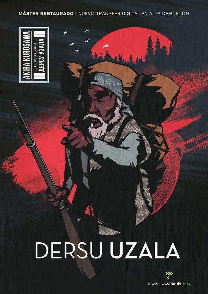 Carátula de 'Dersu Uzala' en Blu-ray. (Fuente: A Contracorriente)