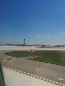 Landed in Detroit