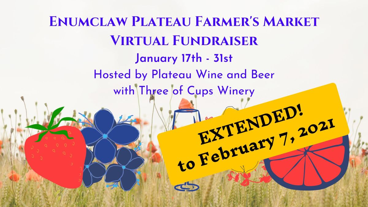 Plateau Wine & Beer Fundraiser Extended to February 7