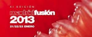 Feria gastronómica y certamen culinario Madrid Fusión, que tendrá lugar del 19 al 21 de enero de 2013 en Madrid