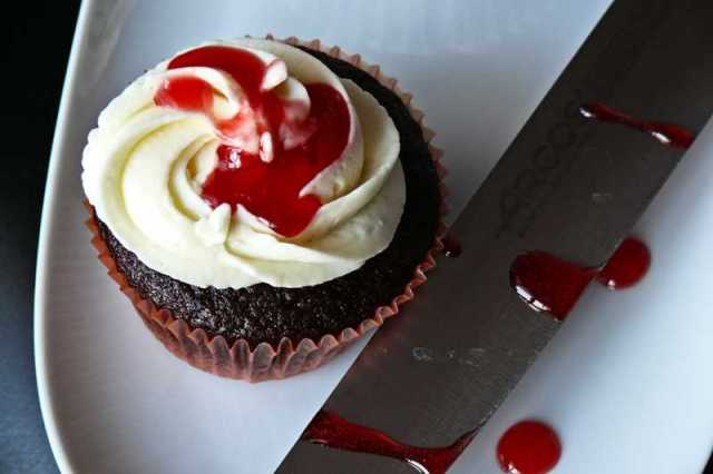 black velvet cupcake