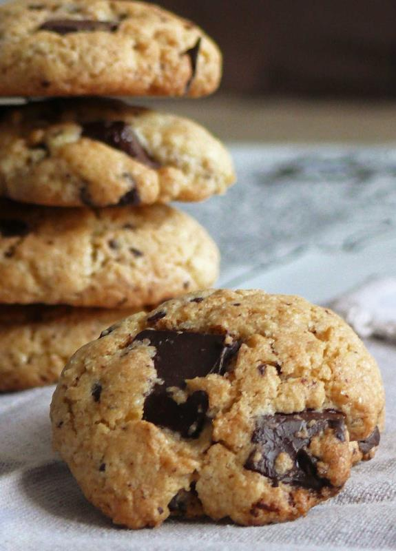 Receta de cookies de chocolate con thermomix