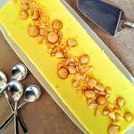 Tarta rápida de limón y nueces de macadamia