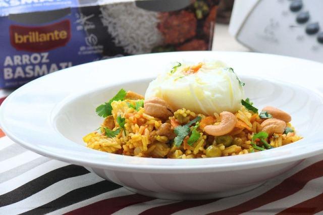 vasitos arroz brillante