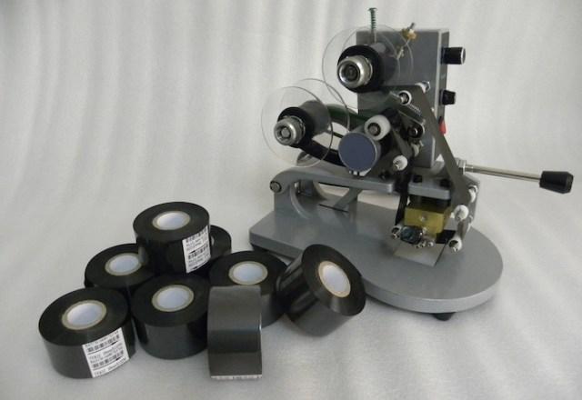 Máquina Codificadora Manual Hot Stamping