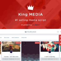 King Media - Viral Magazine News Video Image nulled