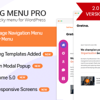 WP Floating Menu Pro - One page navigator, sticky menu for WordPress