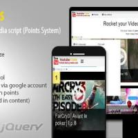 YouTube Coins - (Media Script + Points System) Nulled Free download