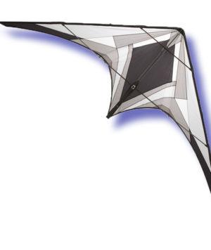 cerf volant gris