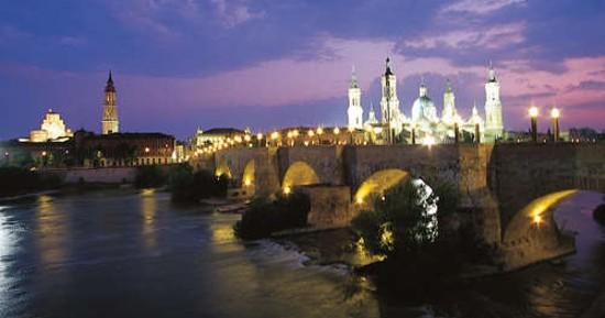 Ciudad de Zaragoza - Puentes sobre el Ebro