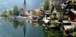 paisajes y turismo en hallstatt