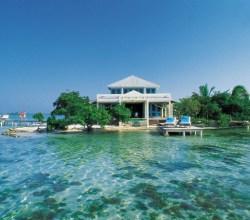 Belice playa del Caribe con atractivos naturales