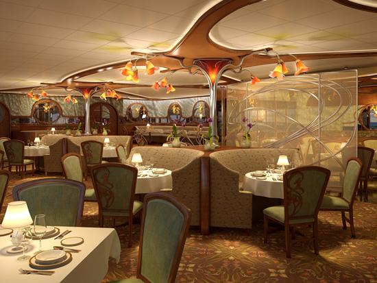 cruceros disney restaurantes palo y remy