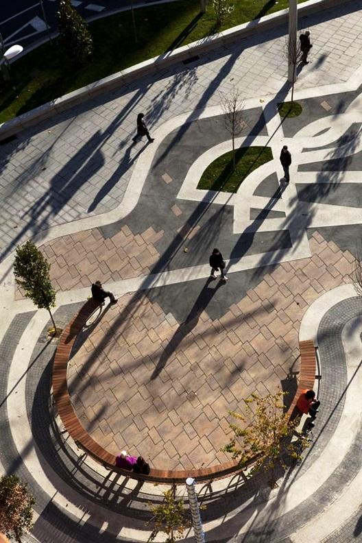 Plaza Vinyes en Lleida
