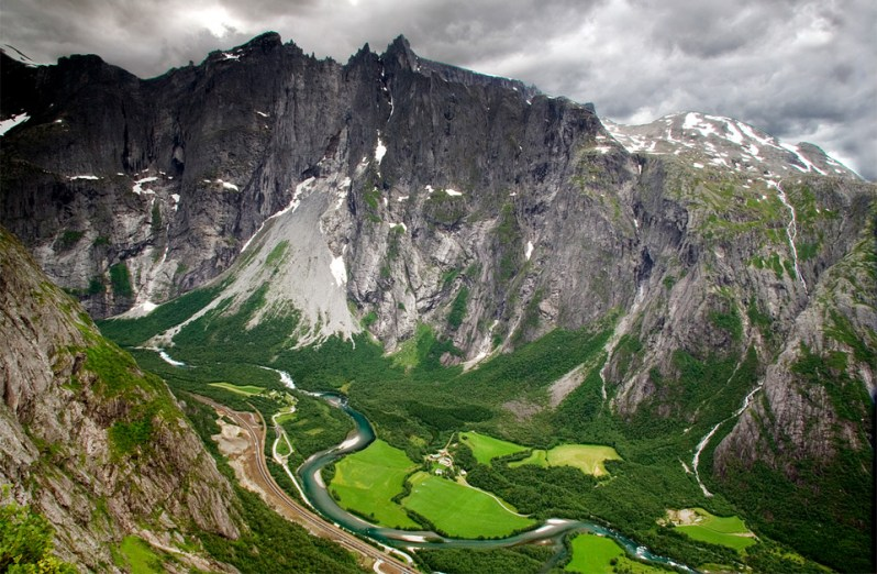 Valle de Romsdal en Noruega