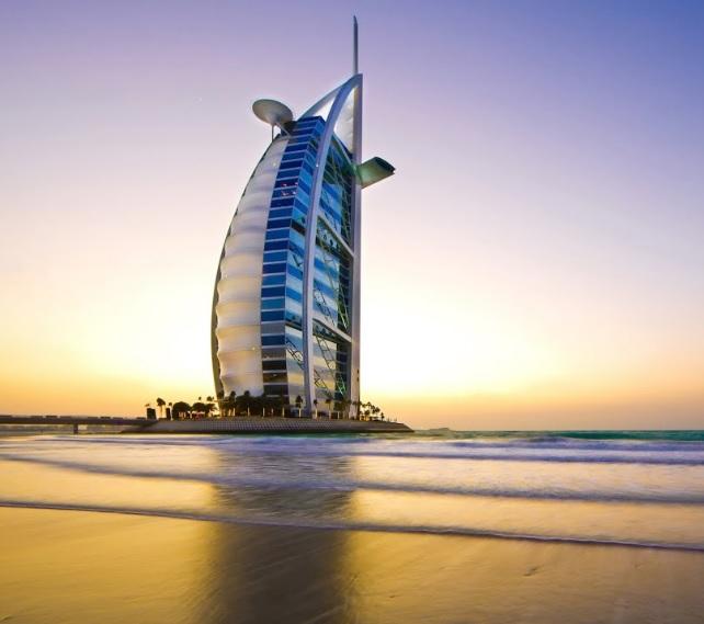 Burj Al Arab hotel 7 estrellas en Dubái