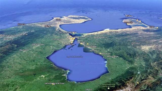 Faro de Maracaibo. Lago y Golfo de Maracaibo