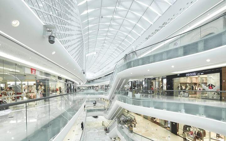 Centro comercial Hanjie Wanda en Hubei, China