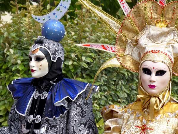 Carnaval de máscaras de Venecia