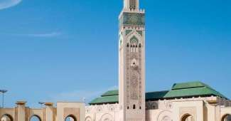 Ciudad de Casablanca en Marruecos