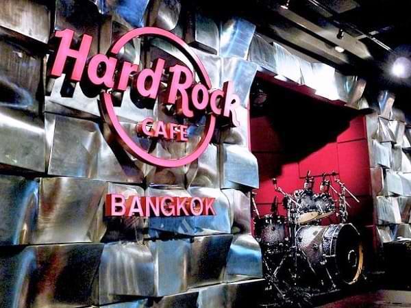 Escenario del Hard Rock Cafe de Bankok