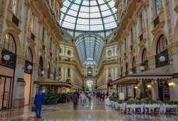 Galería de Vittorio Emanuele II en Milán