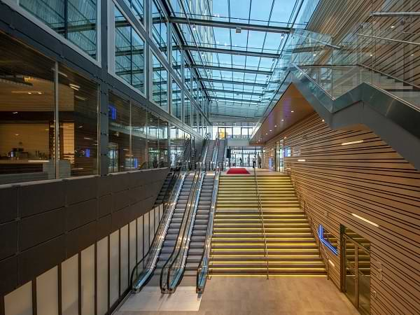 Interior del Stockholm Waterfront Congress Centre