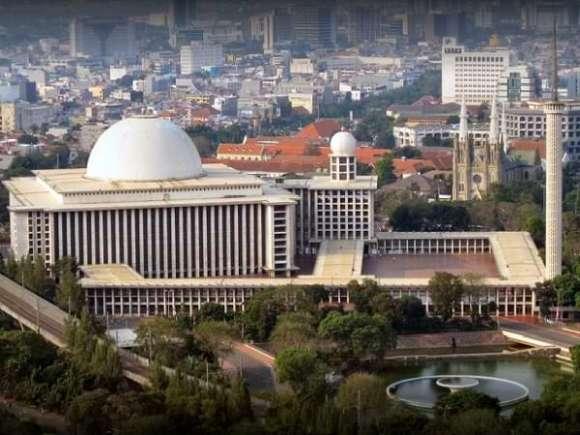 Istiqlal Mosque - Mezquita en Jakarta