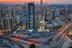 Kuwait City fotografía aérea