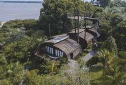Mirante Do Gaviao - Hotel sustentable en el Amazonas