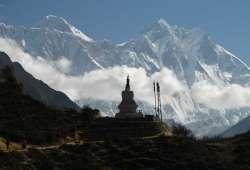 Nepal vista del monte Everest