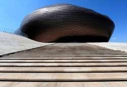 Ordos museo en el desierto Gobi