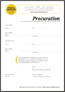 procuration screenshot