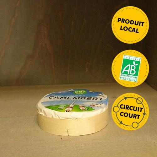 Bio Sev - Camembert au lait cru grand