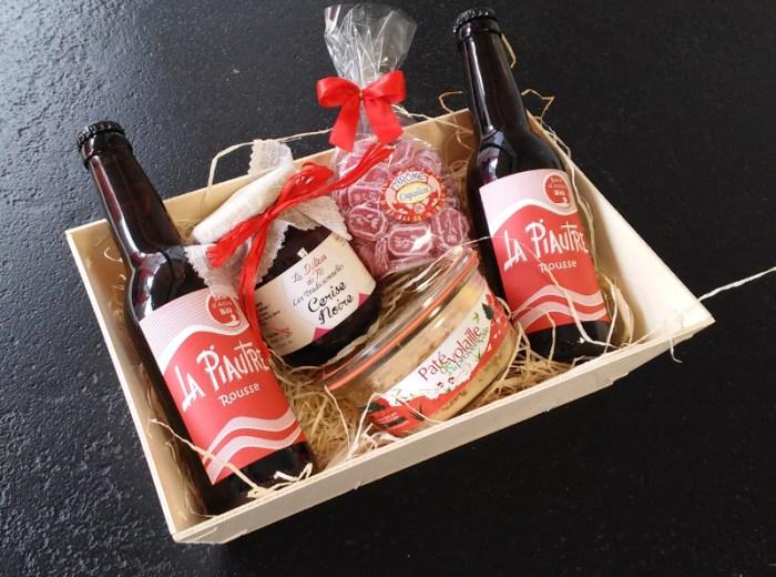 Envie de Saveurs - corbeille cadeau - panier rouge