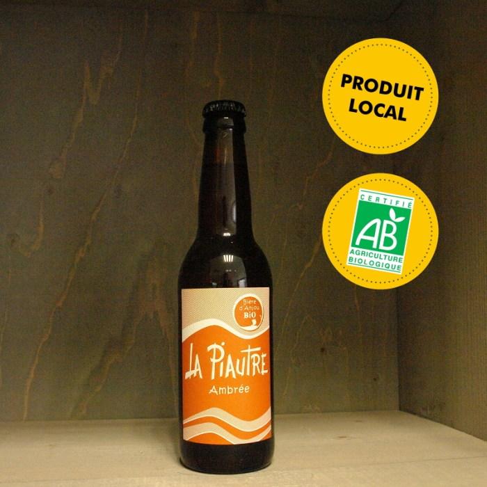 Fabrique des Bières d'Anjou - La Piautre ambrée - bière ambrée 33cL