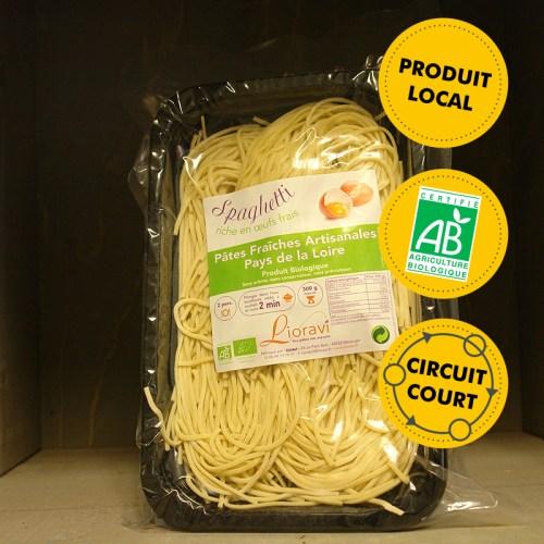 Lioravi - pâtes fraîches - spaghetti (300g)
