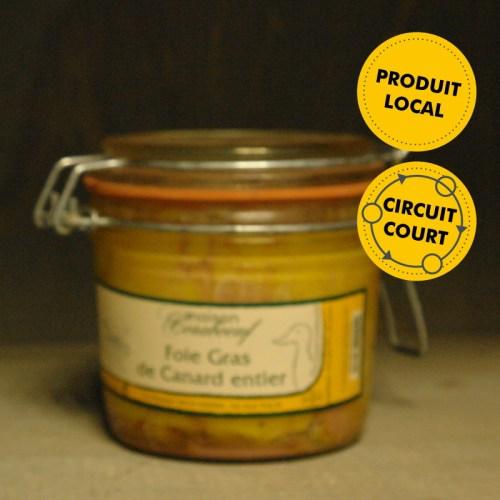 Maison Coraboeuf - foie gras de canard entier