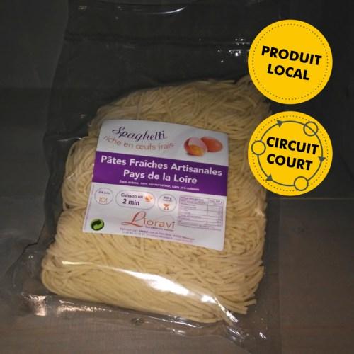 Lioravi - pâtes fraîches - spaghetti (500g)