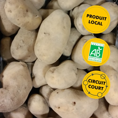 SCEA Boré-Charruau - pommes de terre Nicola vrac